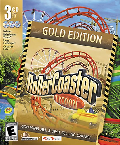 Amazon com: RollerCoaster Tycoon Gold Edition: RollerCoaster Tycoon
