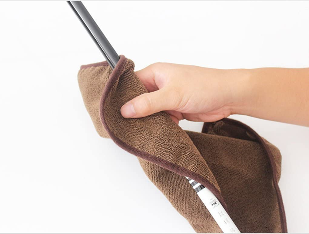 Fishing Clothing Fishing Towel with Climbing Carabiner Wipe Hands Towels