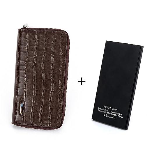 ... Gifts Tanto hombres como mujeres de gran capacidad pueden realizar un viaje de compras por teléfono móvil Cartera de cuero para tarjeta de credito, ...