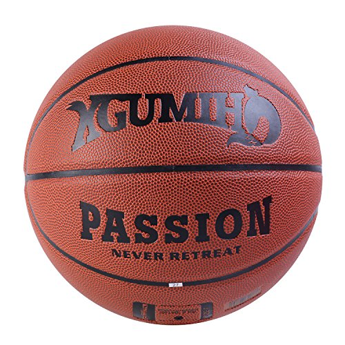 XGUMIHO Basketballs PU Leather Outdoor Indoor Games Mens Professional Street Official Size 7/29.5