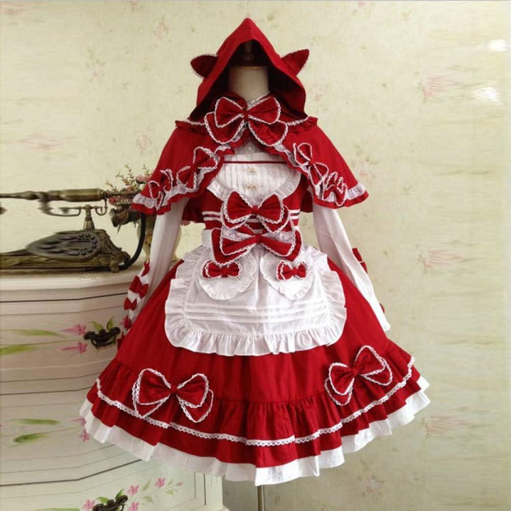 QAQBDBCKL Dama Victoriana Disfraz Linda Princesa Japonesa Vestidos ...