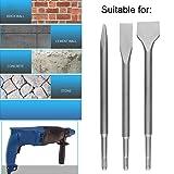 6-Piece SDS Plus Chisel Set, CBTONE Concrete