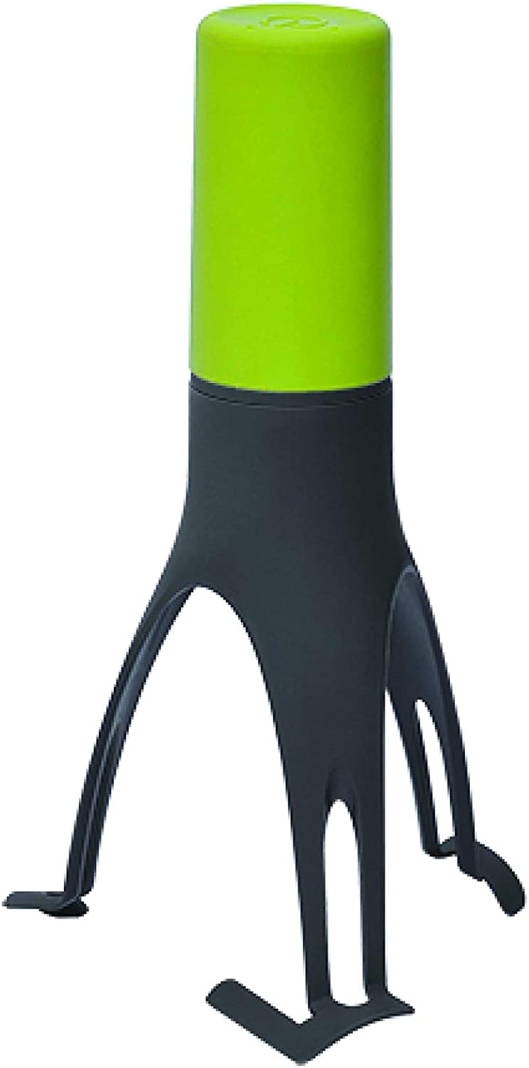 Uutensil Stirr - The Unique Automatic Pan Stirrer - With LED Speed Indicator, Olive