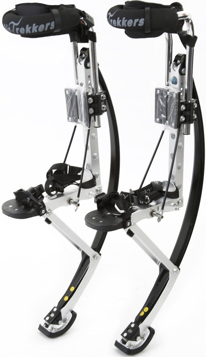 Air-Trekkers Adult Model - Carbon Fiber Spring Jumping Stilts - Medium, 160-210 lbs