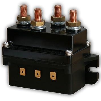JWS Magnetschalter 12V Schwerlastrelais 400 Ampere Winden-Relais 12 ...