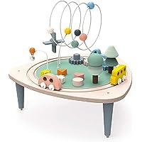Janod - Mesa de actividades de madera Sweet Cocoon - Mesa multijuego adecuada para niños pequeños - Actividades para…