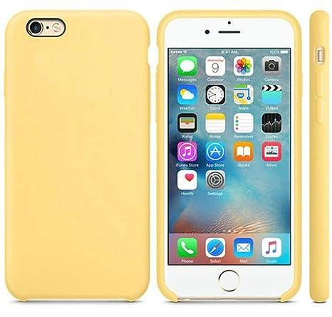 Amazon.com: Carcasa de silicona para iPhone 7, 6 y 8 Plus ...