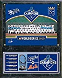 "Kansas City Royals 2015 World Series Champions Wood Plaque (Size: 12"" x 15"")"