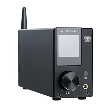 SMSL AD18 *Audio HIFI Amplificador Estereo con Bluetooth 4.2 compatibles