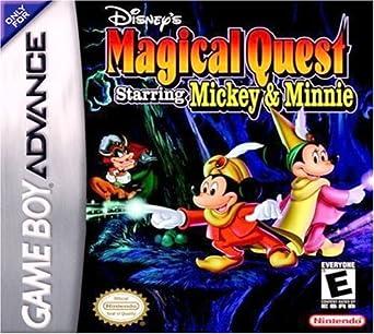 Amazon com: Disney's Magical Quest Starring Minnie & Mickey