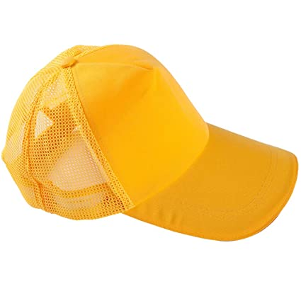 51609585a77 Amazon.com : ROYALCOVER Cap Mesh Hat with Solid Colors and ...