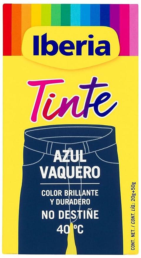 Iberia Tinte Azul Vaquero para Ropa - 70 gr