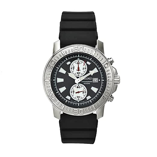 Amazon.com: Seiko Mens SNN203P1 Stainless-Steel Analog with ...