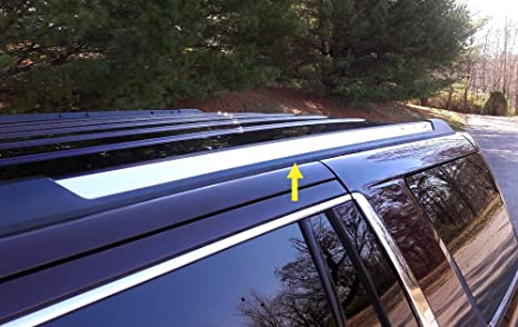 2019 Chevy Tahoe >> Maxmate Made In Usa Works With 2015 2019 Chevy Tahoe Gmc Yukon Roof Rack Body Molding Trim Cover 2pc