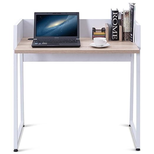 Costway Mordern - Mesa de Escritorio para Ordenador, Mesa de ...