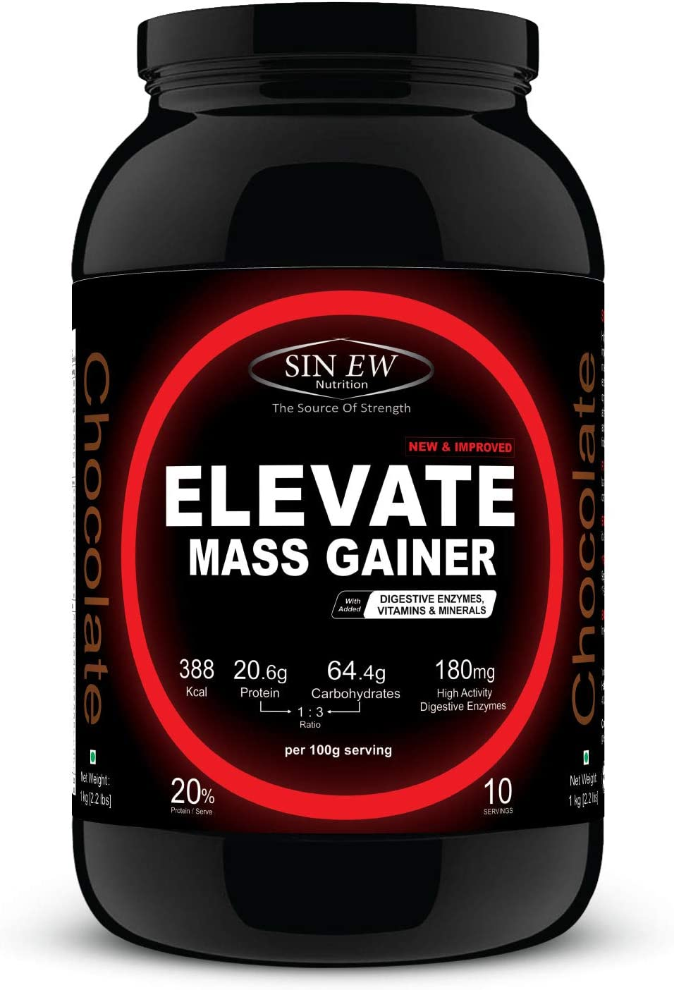 Sinew Nutrition Elevate Mass Gainer