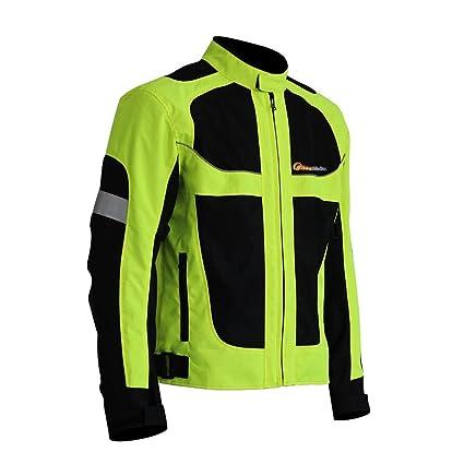 Chaqueta de moto LKN transpirable para verano con protecciones