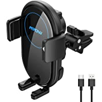 Deals on Mpow Wireless Auto-Clamping Car Wireless Charger Mount
