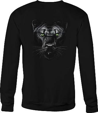 70cd6df5c32 Amazon.com  Hoody Crewneck Sweatshirt Black Panther for Men or Women   Clothing