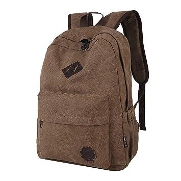 Old Skool Mochilas Hombre, Bolsa para la Escuela Casual Backpack Gimnasio Bolsa para Trabajo de Ocio Campus Viaje: Amazon.es: Equipaje