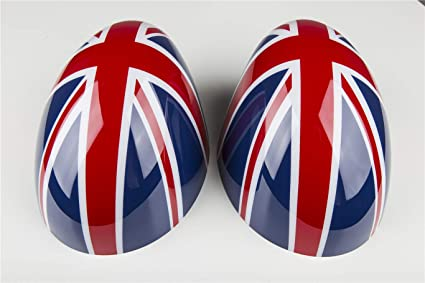 Amazoncom Redblue Union Jack Uk Flag Abs Sticker Cover Trim Cap