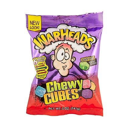 Warheads – Bolsa para dulces con diseño de cubos de masticar ...