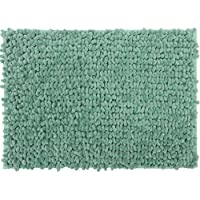 Casale Home 847431000359 New Cut and Large Loop Microfiber Chenille Area Rug, 4x6, Mint