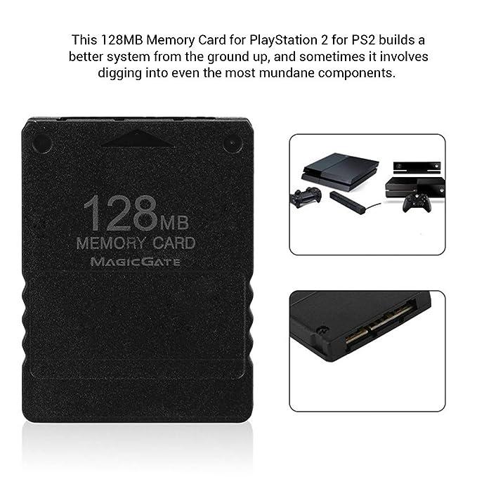 Neborn - Tarjeta de Memoria de 128 MB para Sony PS2 ...