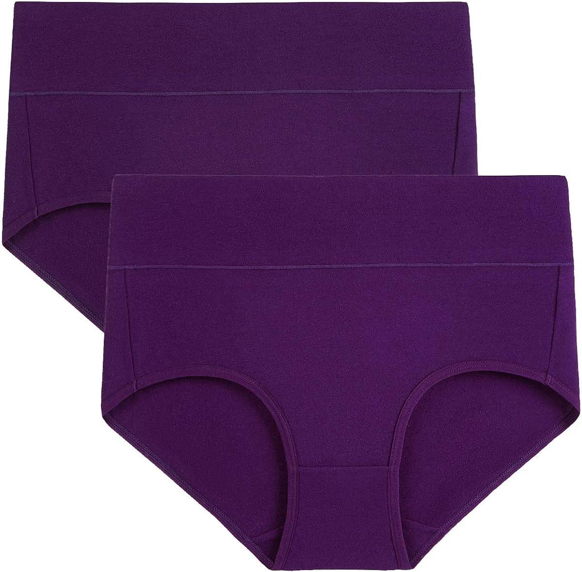 wirarpa Mutande Donna Culotte Vita Alta Slip Cotone Mutantina Elastiche Pantaloncini Post Parto Taglia 38-62