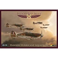 WarLord Blood Red Skies Hawker Hurricane Squadron 1:200 WWII Juego de Guerra de Combate aéreo masivo