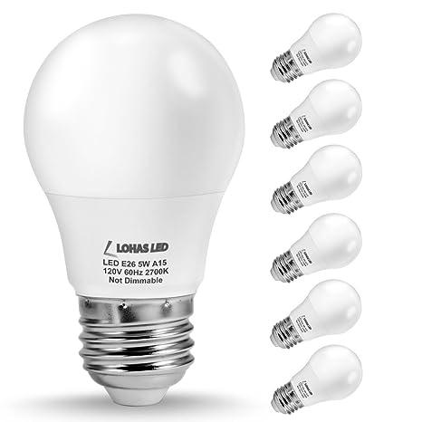 Lohas a15 led bulb 5w40w equivalent medium base e26 led light lohas a15 led bulb 5w40w equivalent medium base e26 led light aloadofball Choice Image