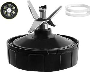 Nutri Ninja Blender Replacement Parts, 6 Fins Extractor Blade Assembly for Ninja Blender Auto-iQ BL450-70 BL451-70 BL454-70 BL455-70 BL482-70 Only fit for 18 oz 24 oz 32 oz