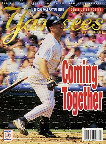 Yankees Magazine, Volume 19, No. 5, August 1998 - Special Role Players - Tim Baseball Wood