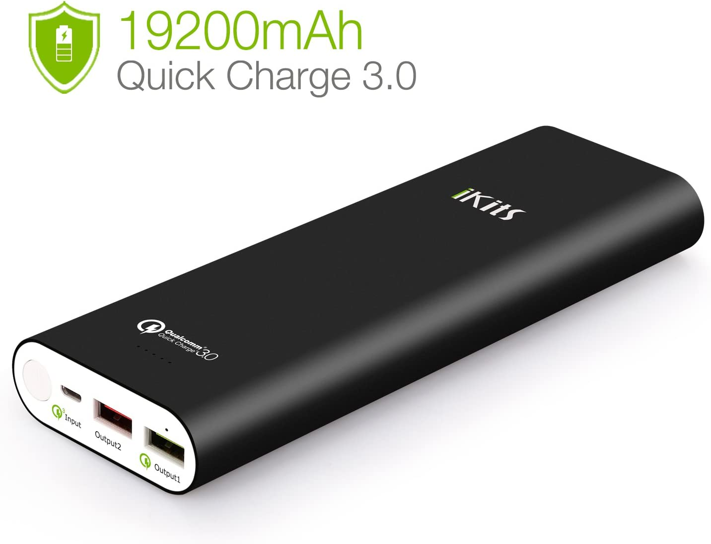 USB C Power Bank Portable Charger 20000mAh Omars External Battery Pack 15W Max Output Fast Phone Charging Battery Bank with 3 Outputs/& 2 Inputs Portable Battery Charger for iPhone Samsung iPad Tablet