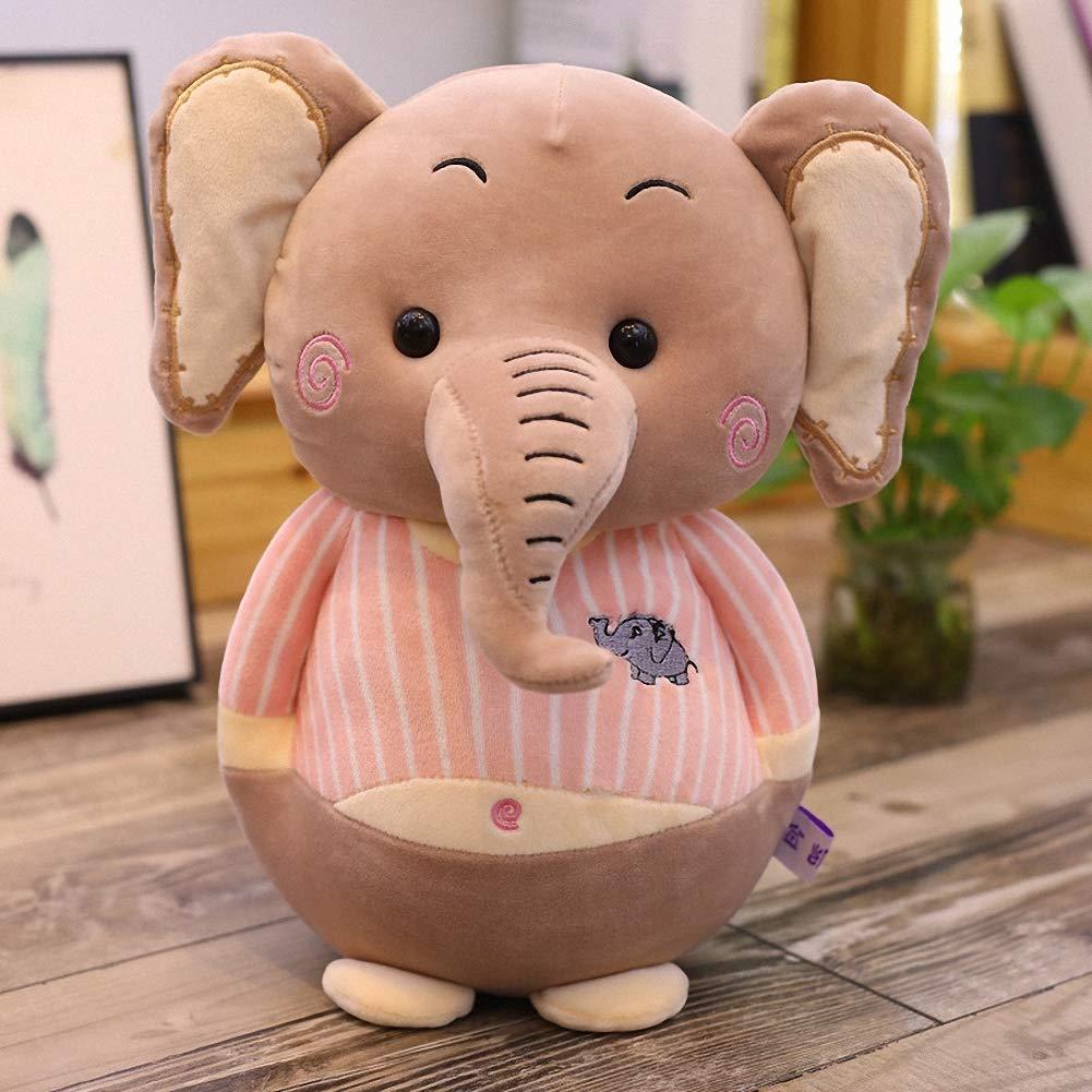 YINmume Elefanten-Plüschtier, Kinder Geschenk für Freundin, Kinder Elefanten-Plüschtier, d88e21