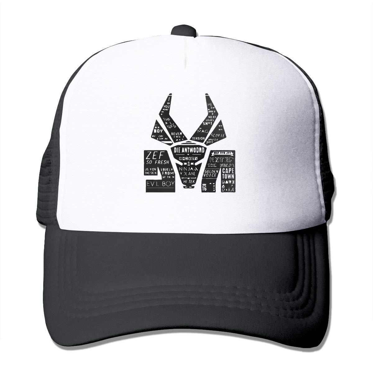 ZhongQiu Die Antwoord Mesh Cap Trucker Hats Baseball Caps ...
