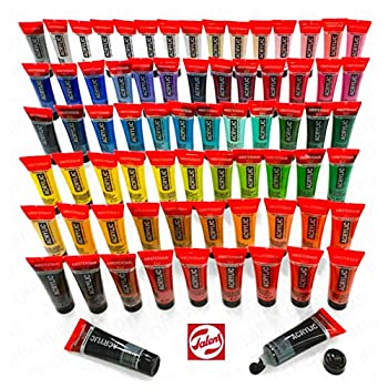 Image of Royal Talens - Full Range of Amsterdam Standard Series Paints - 72 x 20ml Tubes of Acrylic Paints