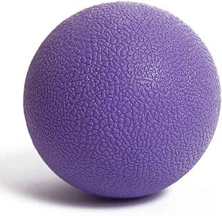 Pigupup Balle de Lacrosse, Boule de Massage Mobilité Myofascial Trigger Point Yoga Body Fitness Douleur de Presse Rose Rouge