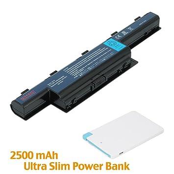 Battpit Bateria de repuesto para portátiles Acer Aspire 4551-P322G32Mn (4400mah / 48wh)