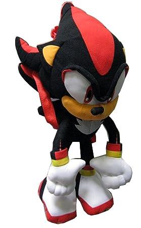 prix le plus bas a96a1 e3dd0 Peluche Sac A Dos Sonic Noire: Amazon.fr: Jeux et Jouets