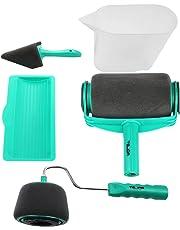 Rullo per Pittura con Serbatoio Professionale, Rottay 5 Set di Kit Rulli per Pittura,Green [2019 Upgraded]