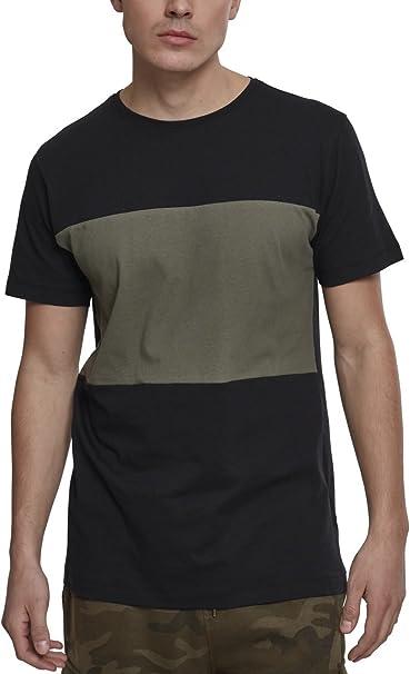 Urban Classics Color Block Panel Poloshirt, Jersey para Hombre