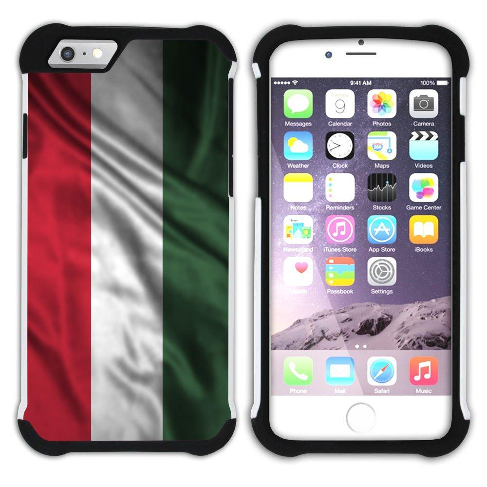 Amazon com: FJCases Hungary Hungarian Waving Flag Shockproof
