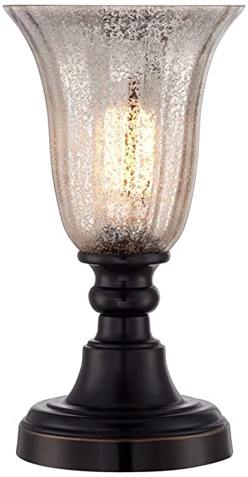Isaac mercury glass 13 high accent table lamp amazon aloadofball Image collections