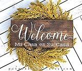 Yilooom Mi Casa ES Su Casa, Welcome Wood