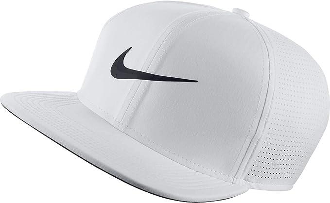 Nike 892643 Gorra de béisbol, Hombre, Blanco (Blanco 100), One ...
