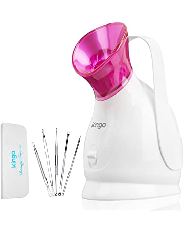 KINGA Facial Steamer Hot Mist Moisturizing Cleaning Pores clearing blackheads Humidifier Home Sauna SPA System Facial