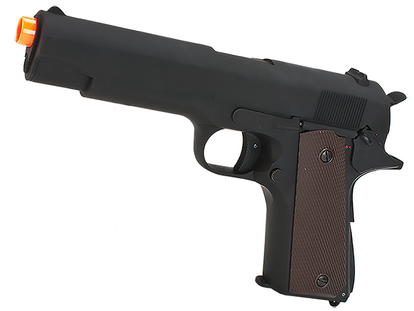 Evike New Version CYMA Heavy Weight 1911 Airsoft AEP Electric Pistol (Metal Gearbox) - (50256)