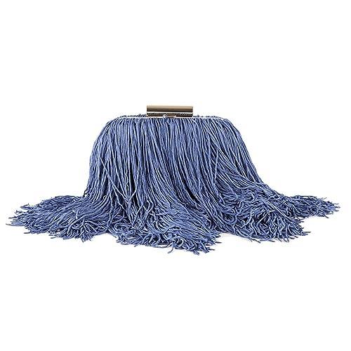 Bolso de embrague, Cinzia Azul, satén, Tamaño en cm: 17 l x 10 h x 6 p: Amazon.es: Zapatos y complementos
