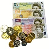 Sterling Play Money Currency for Educational Learning Literacy Numeracy Pretend Play Set